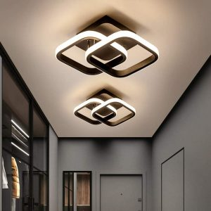 Plafonnier LED moderne Osairous
