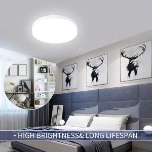 Hosome Plafonnier LED 36W Luminaire Plafonnier 4500K